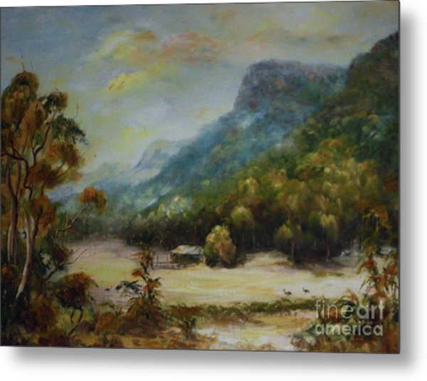 Emu Plains, Grampians Metal Print