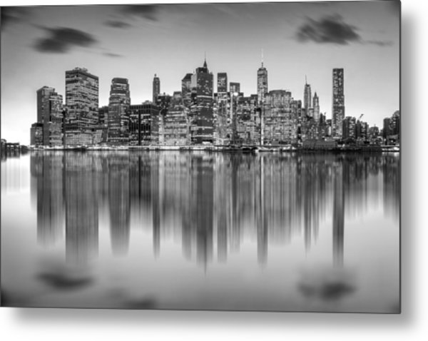 Enchanted City Metal Print