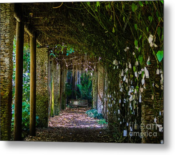 Enchanted Entrance Metal Print