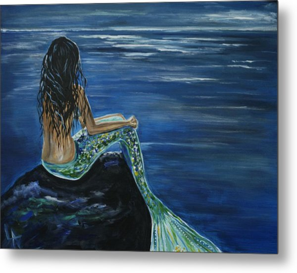 Enchanted Mermaid Metal Print