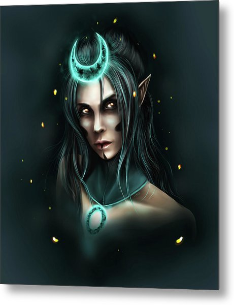 Enchantress Metal Print