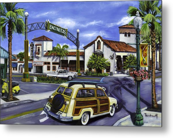 Encinitas Dreaming Again Metal Print