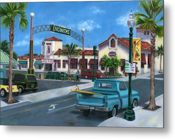 Encinitas Dreaming Metal Print by Lisa Reinhardt