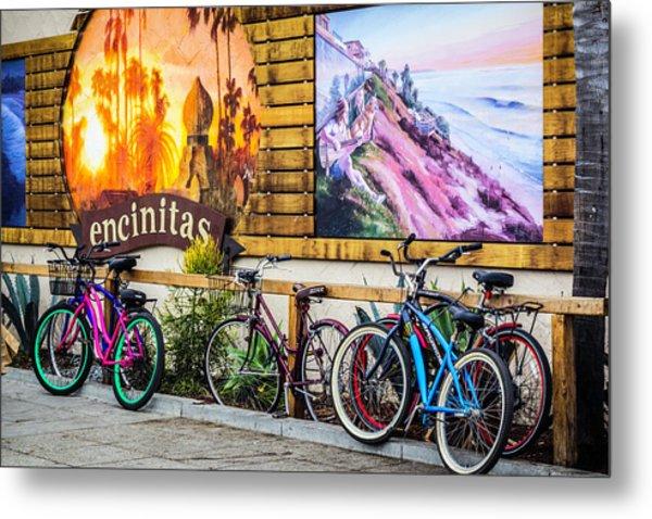 Bicycle Parking Metal Print
