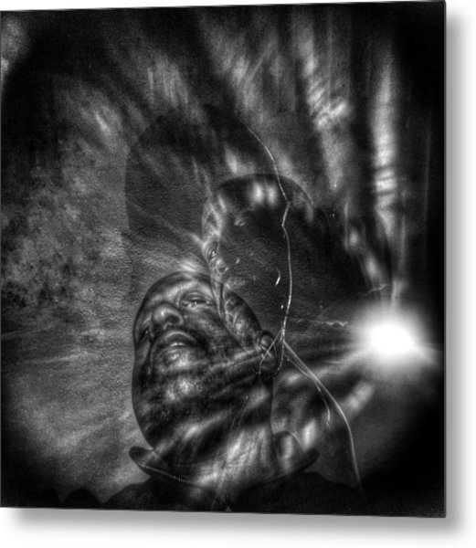 Encounters With Lord Harden Number Two Metal Print