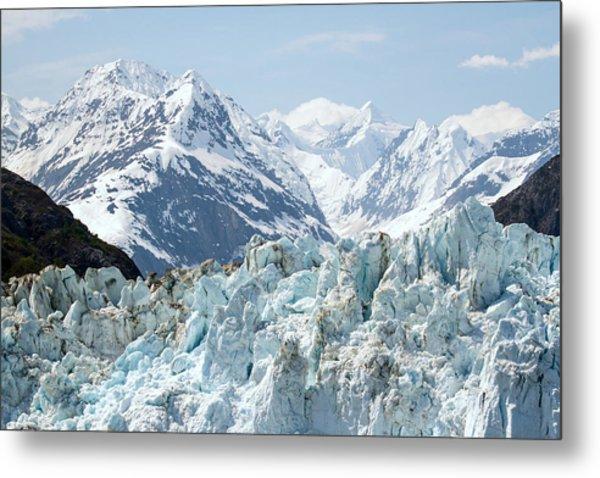 Glaciers End Of A Journey Metal Print