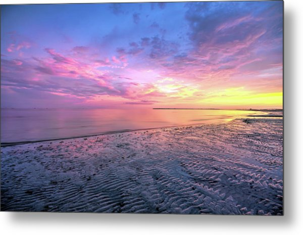 End Of The Day. Metal Print