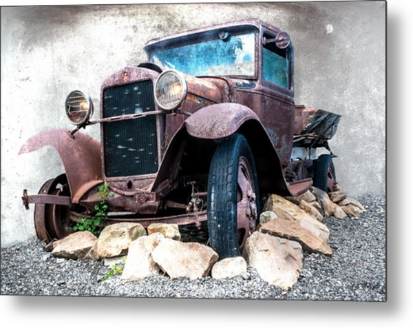 End Of The Line Metal Print by Tom Pickering of Photopicks Photography and Art