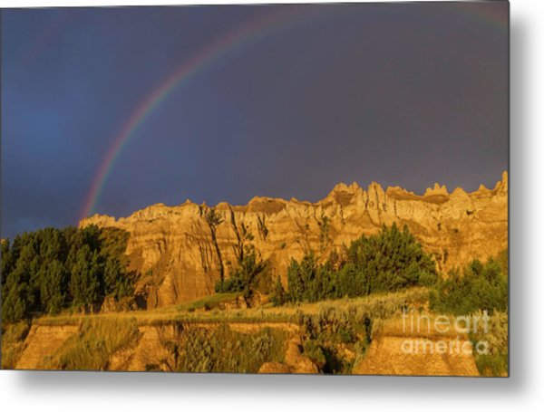 End Of The Rainbow Metal Print