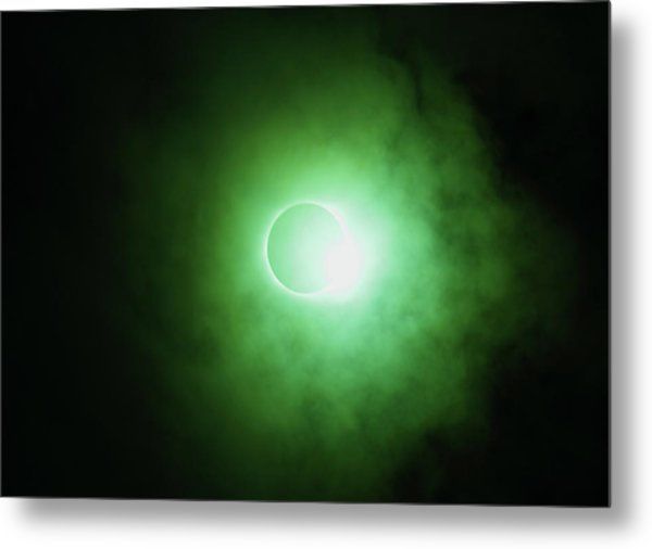End Of Totality Metal Print