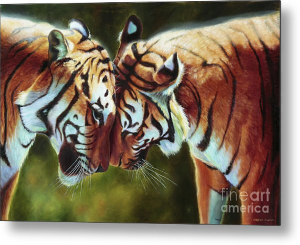 Endangered Moments Metal Print