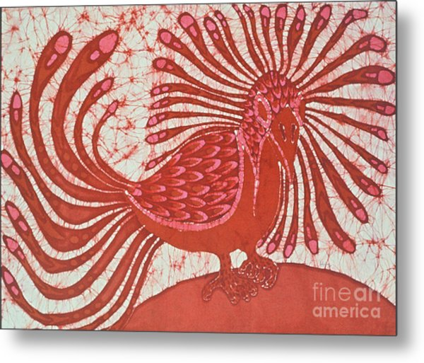 Energy Bird Metal Print