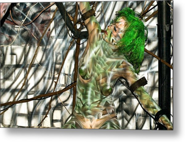 Energy E Metal Print by Leigh Odom