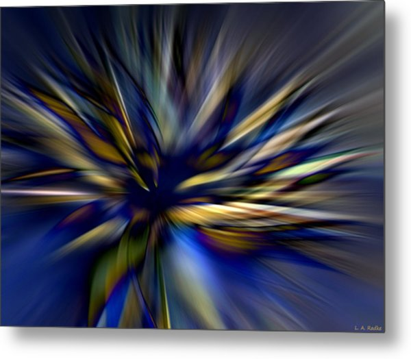 Energy In Flight Metal Print