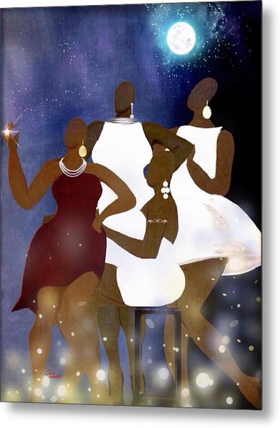 Engagement Party Metal Print