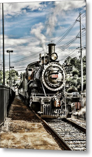 Engine 154 Metal Print