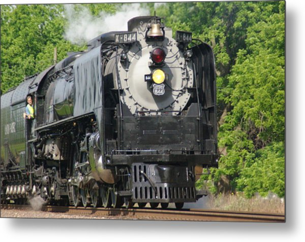 Engine X-844 Metal Print