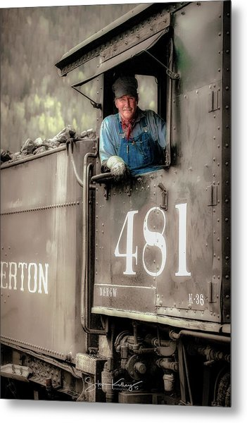 Engineer 481 Metal Print