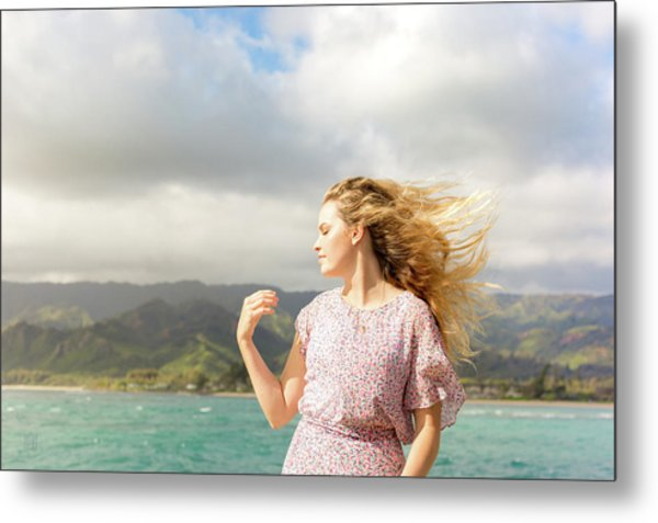 Enjoy The Breeze Metal Print
