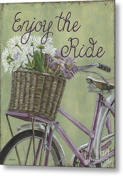 Enjoy The Ride Metal Print