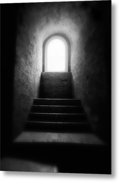 Enlighted Metal Print by Artecco Fine Art Photography