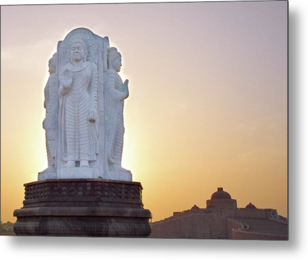 Enlightened Buddha  Metal Print