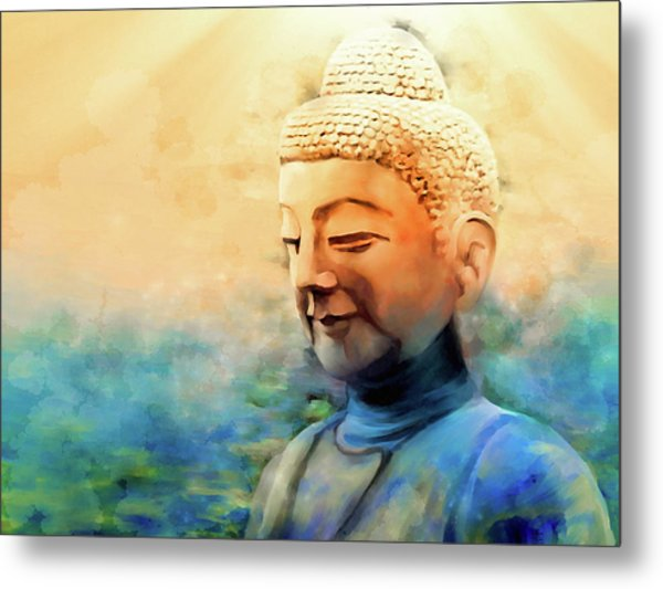 Enlightened One Metal Print