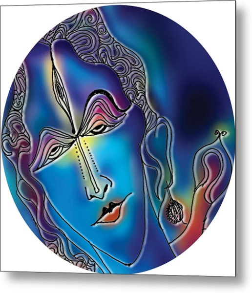 Enlightening Shiva Metal Print