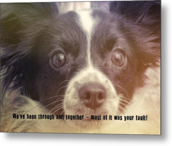 Ennis Quote Metal Print by JAMART Photography