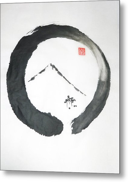 Enso Noble Metal Print