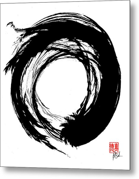 Enso / Zen Circle 15 Metal Print