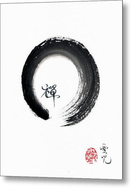 Enso Zen Metal Print