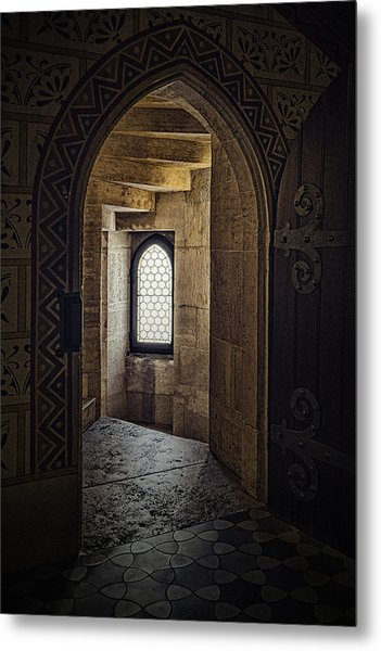 Enter For Enlightenment Metal Print