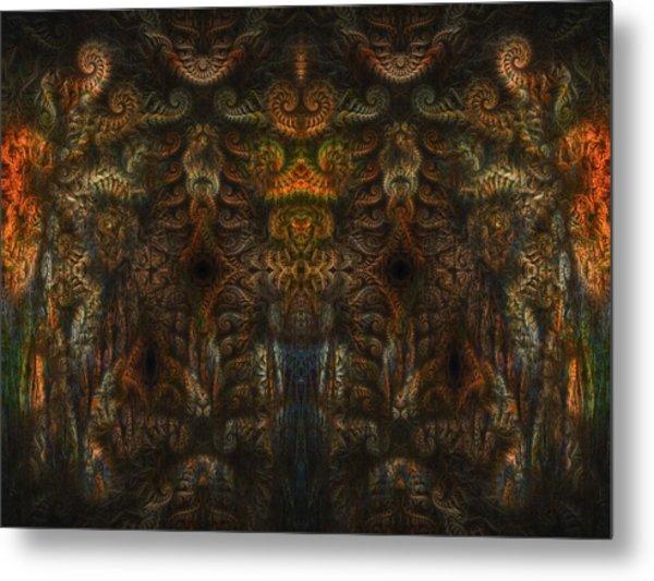 Enter Metal Print by Talasan Nicholson