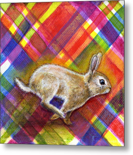 Metal Print featuring the painting Enthusiasm by Retta Stephenson