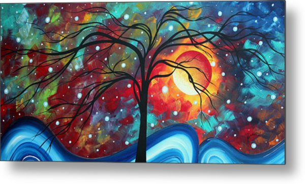 Envision The Beauty By Madart Metal Print