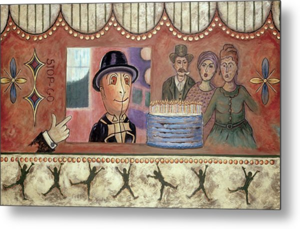 Envy And Surprise Metal Print by Pegeen  Shean