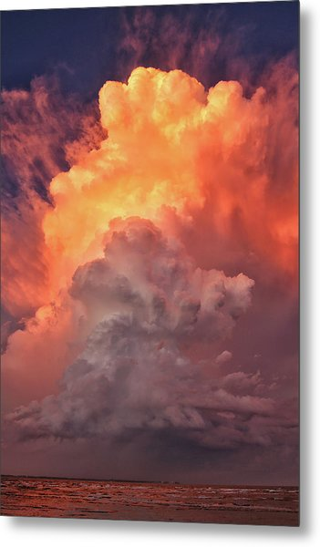 Epic Storm Clouds Metal Print