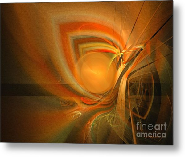 Equilibrium - Abstract Art Metal Print