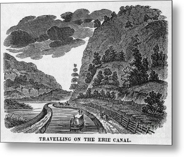 Erie Canal, 1835 Metal Print