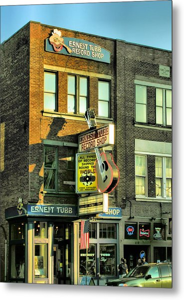 Ernest Tubbs Record Store Metal Print by Steven Ainsworth