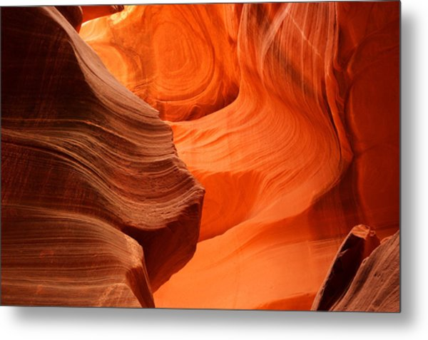 Eroded Metal Print by Eric Foltz