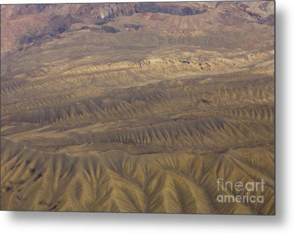 Eroded Hills Metal Print by Tim Grams
