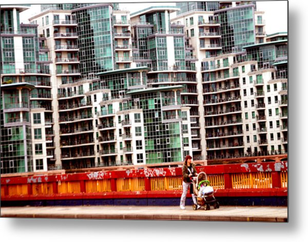 Escape From The Structures Metal Print by Jez C Self