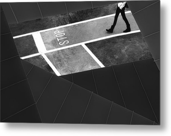 Escape Plan Metal Print