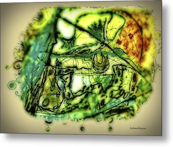 Escape The Whirlwind-2015 Metal Print