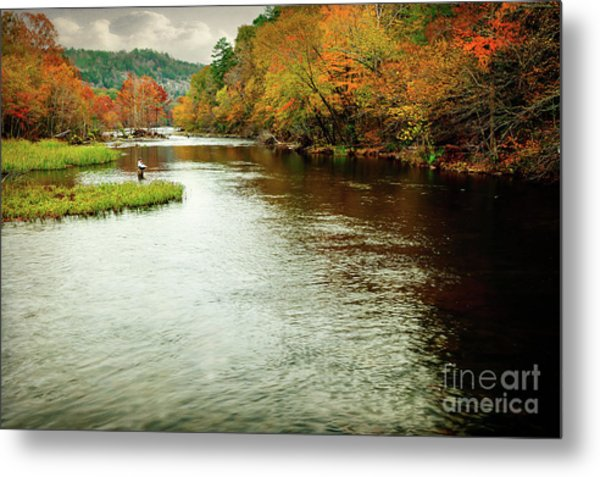 Escape To Beaver's Bend Metal Print