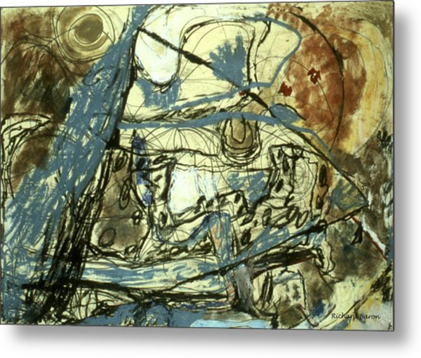 Escaping The Whirlwind Metal Print