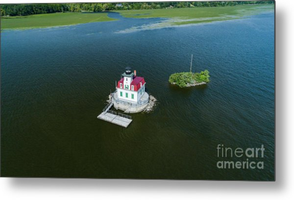 Esopus Lighthouse Metal Print
