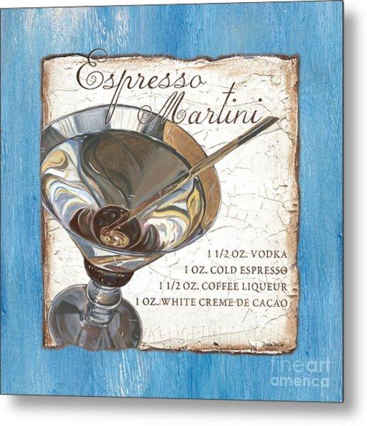 Espresso Martini Metal Print